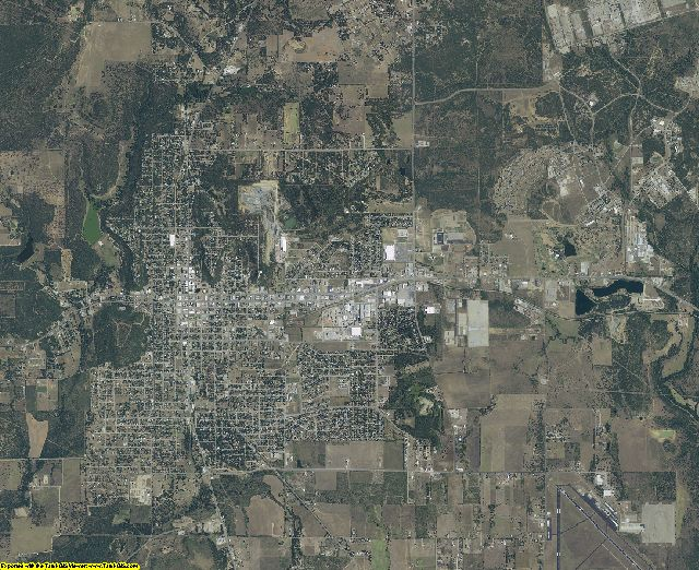 Palo Pinto County, Texas aerial photography
