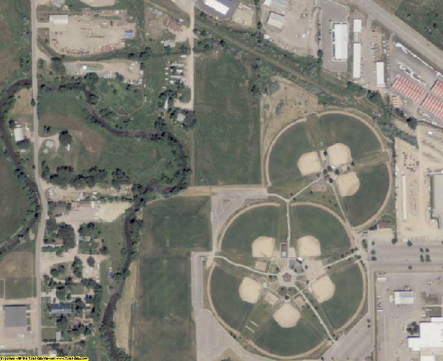 Pennington County, SD aerial photography detail