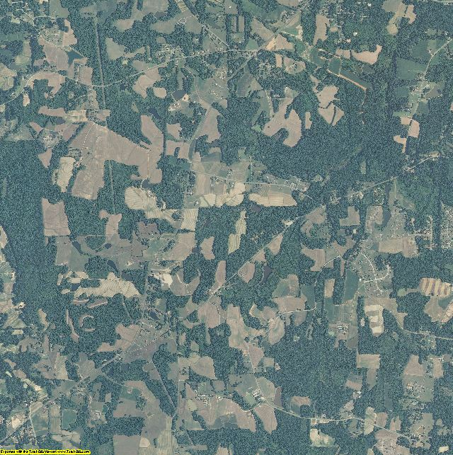 Person County, North Carolina aerial photography