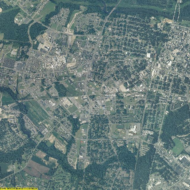 Pitt County, North Carolina aerial photography