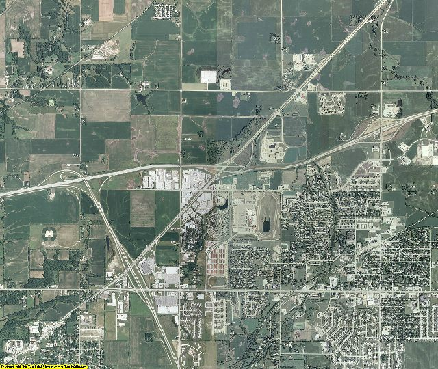 Polk County, Iowa aerial photography