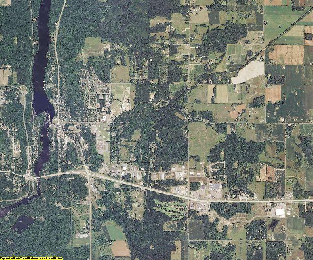 Polk County, Wisconsin aerial photography