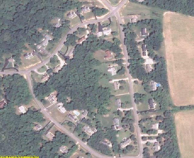 Prince George County, VA aerial photography detail
