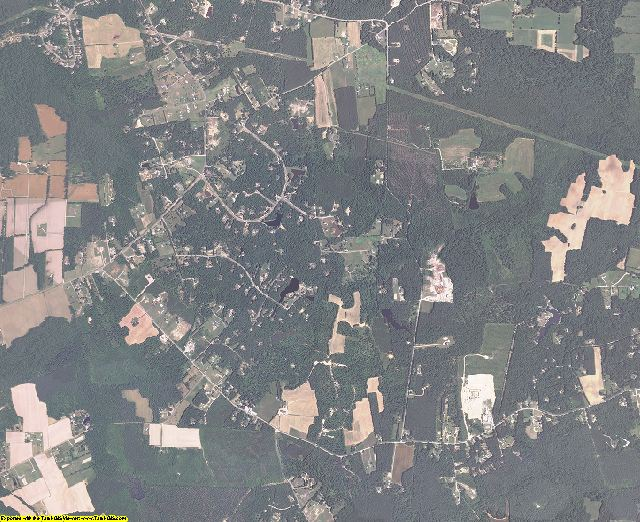 Prince George County, Virginia aerial photography
