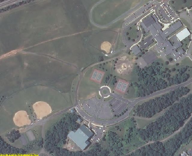 Prince William County, VA aerial photography detail