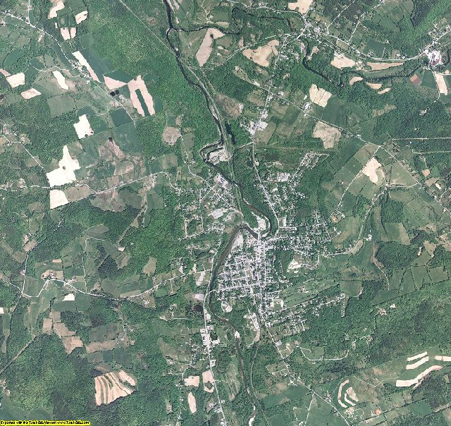 Rensselaer County, New York aerial photography