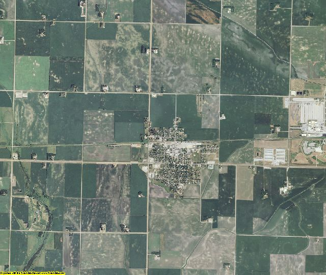 Renville County, Minnesota aerial photography