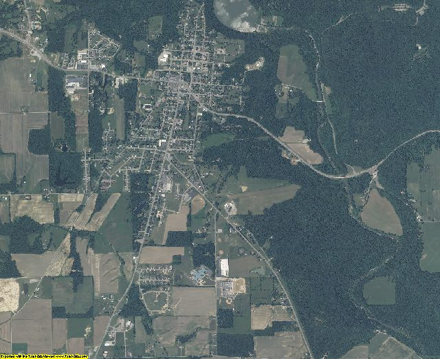 Ripley County, Indiana aerial photography