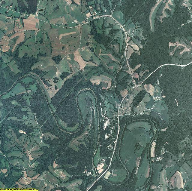 Robertson County, Kentucky aerial photography