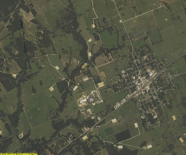 Robertson County, Texas aerial photography