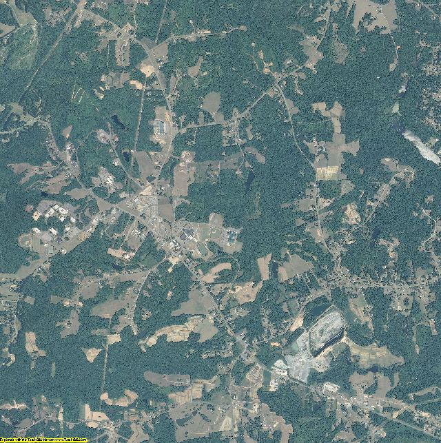 Rockingham County, North Carolina aerial photography