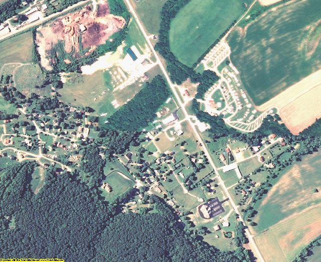 Rowan County, KY aerial photography detail