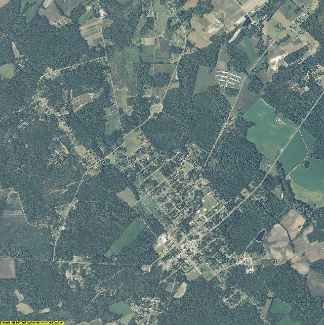 Sampson County, North Carolina aerial photography