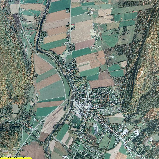 Schoharie County, New York aerial photography
