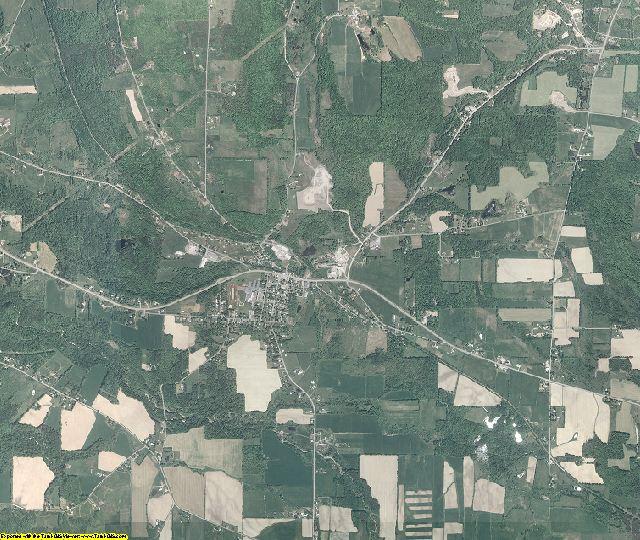 Schuyler County, New York aerial photography