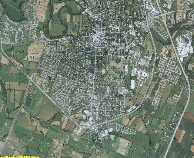 Scott County, Kentucky aerial photography