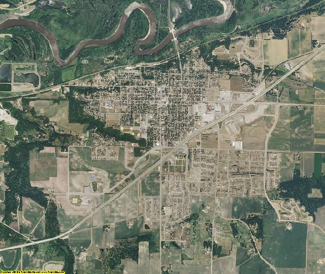 Scott County, Minnesota aerial photography