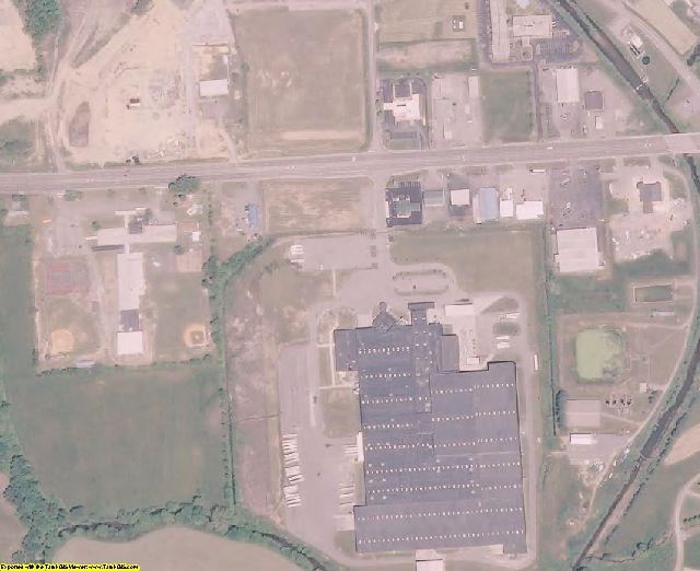 Scott County, VA aerial photography detail