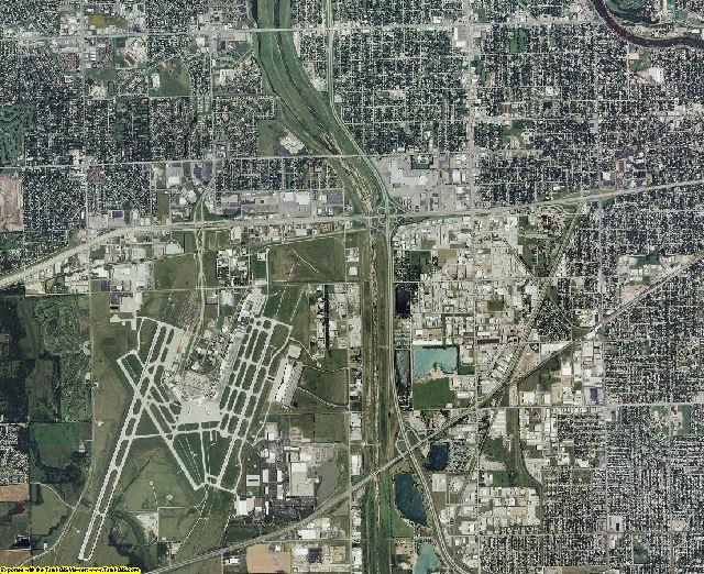 Sedgwick County, Kansas aerial photography