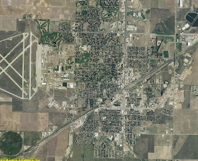 Seward County, Kansas aerial photography
