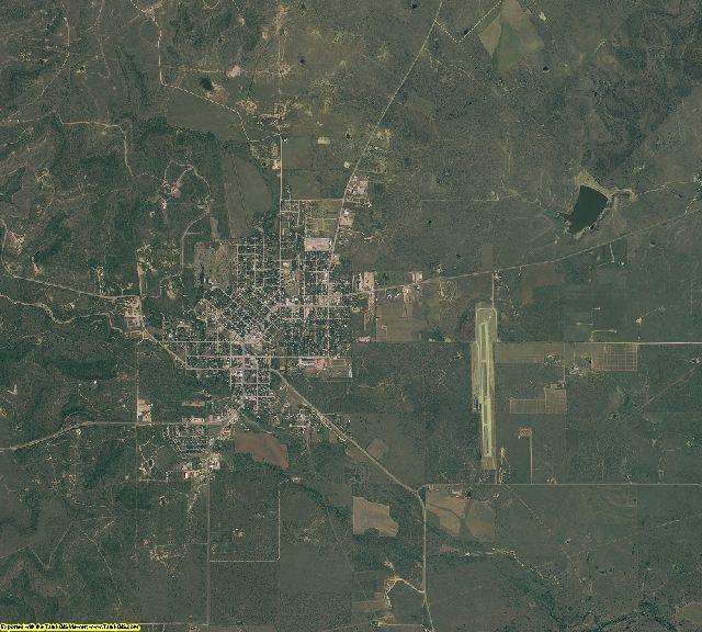 Shackelford County, Texas aerial photography