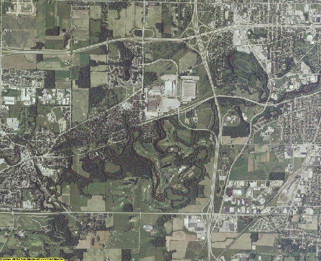 Sheboygan County, Wisconsin aerial photography