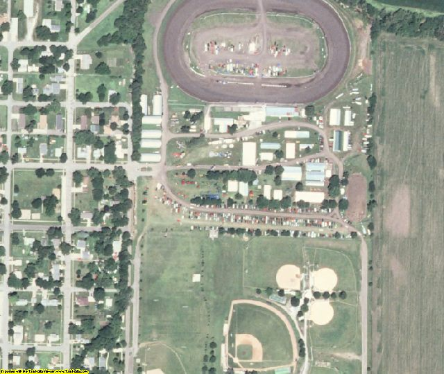 Shelby County, IA aerial photography detail