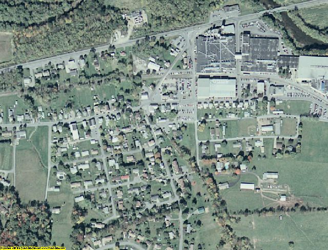 Snyder County, PA aerial photography detail
