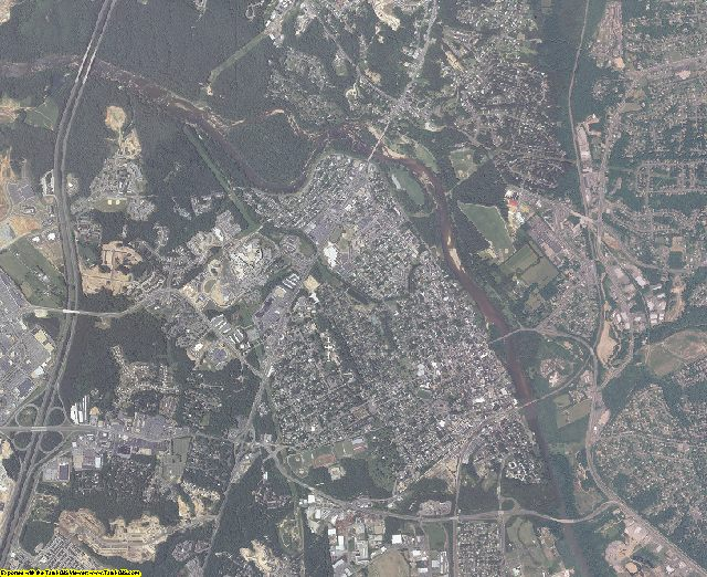 Stafford County, Virginia aerial photography