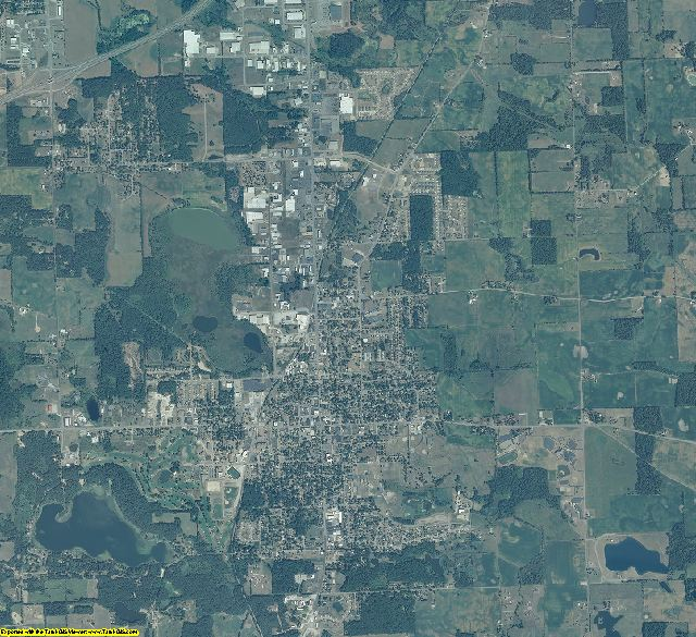 Steuben County, Indiana aerial photography