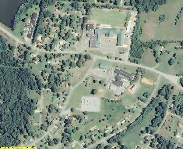 Stewart County, TN aerial photography detail