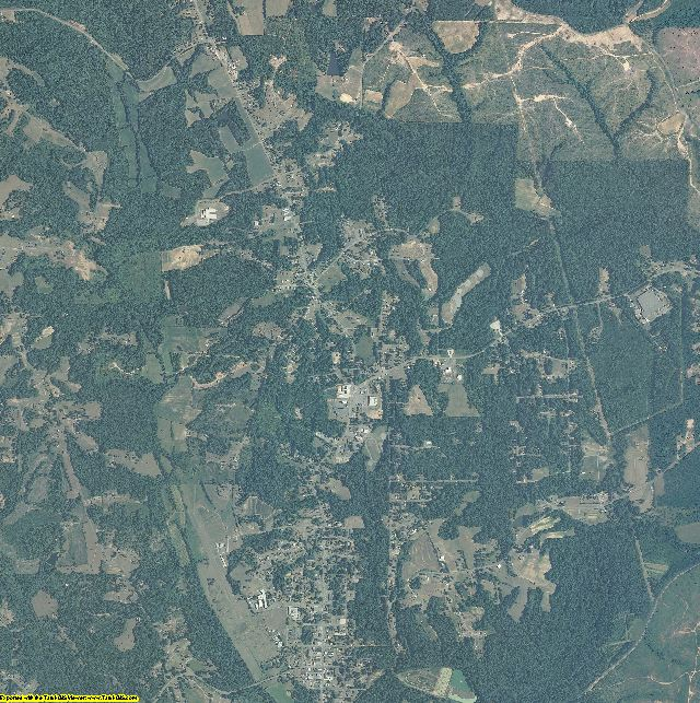 Stokes County, North Carolina aerial photography