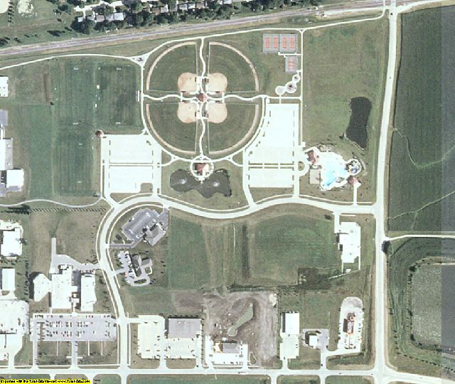 Story County, IA aerial photography detail