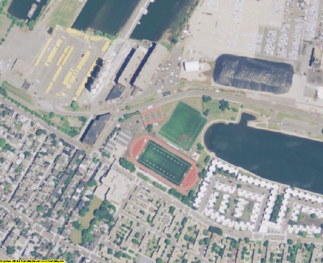 Suffolk County, MA aerial photography detail