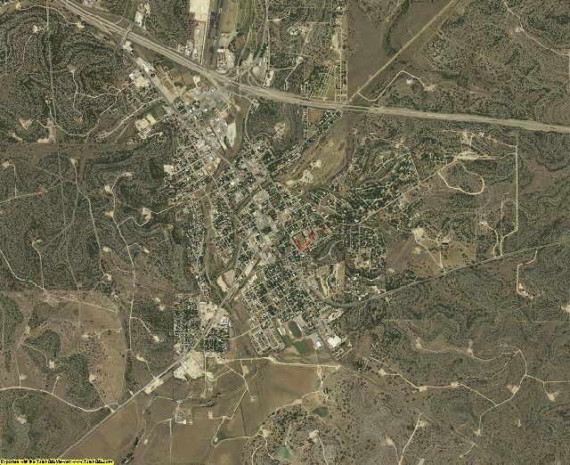 Sutton County, Texas aerial photography
