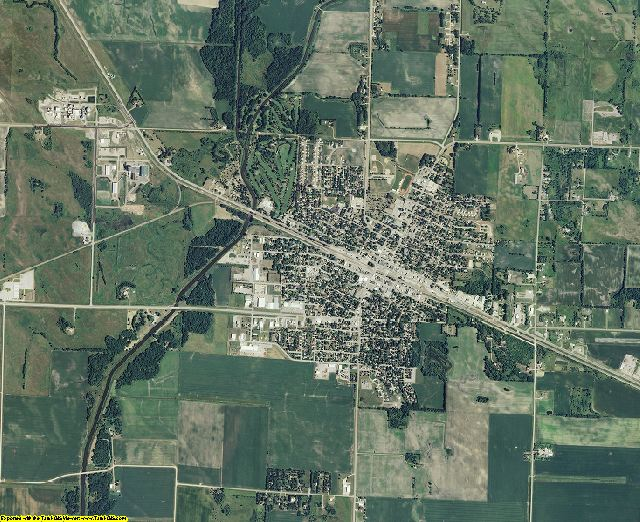 Swift County, Minnesota aerial photography