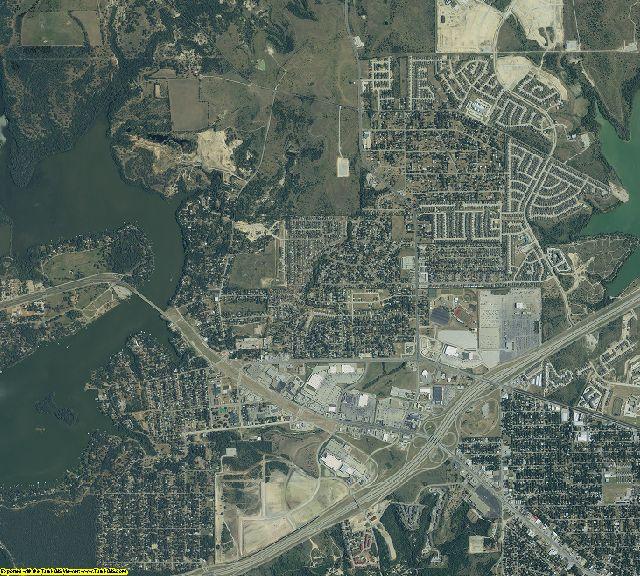 Tarrant County, Texas aerial photography