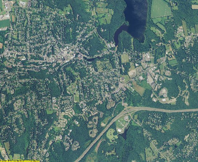 Tolland County, Connecticut aerial photography