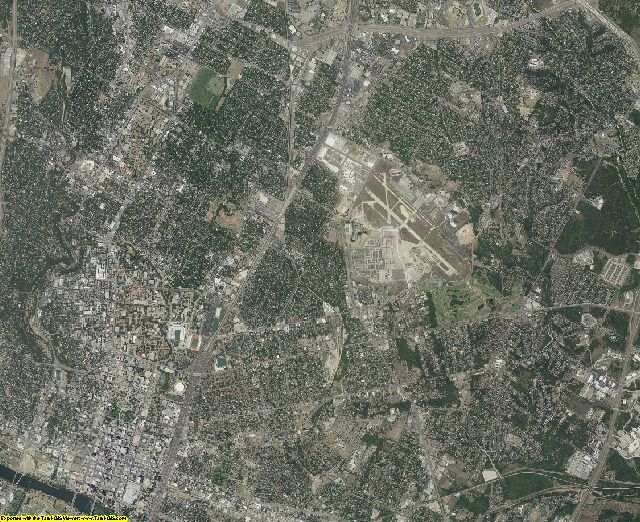 Travis County, Texas aerial photography