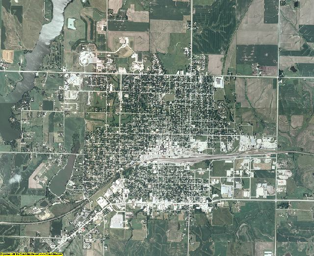 Union County, Iowa aerial photography