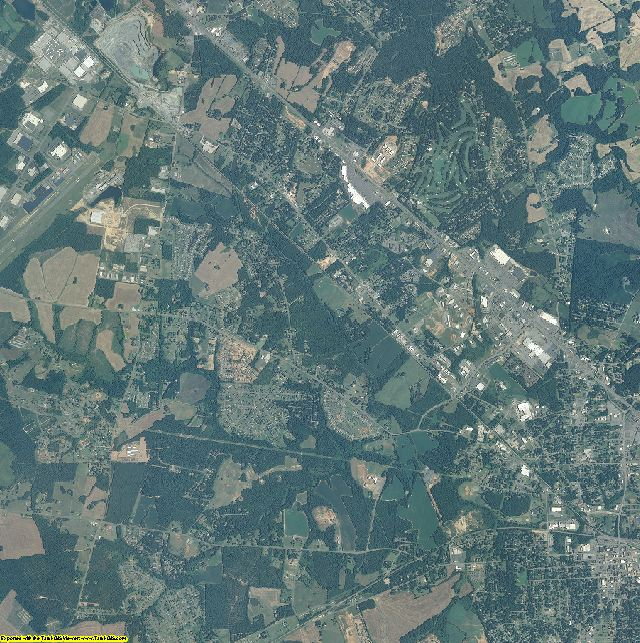 Union County, North Carolina aerial photography