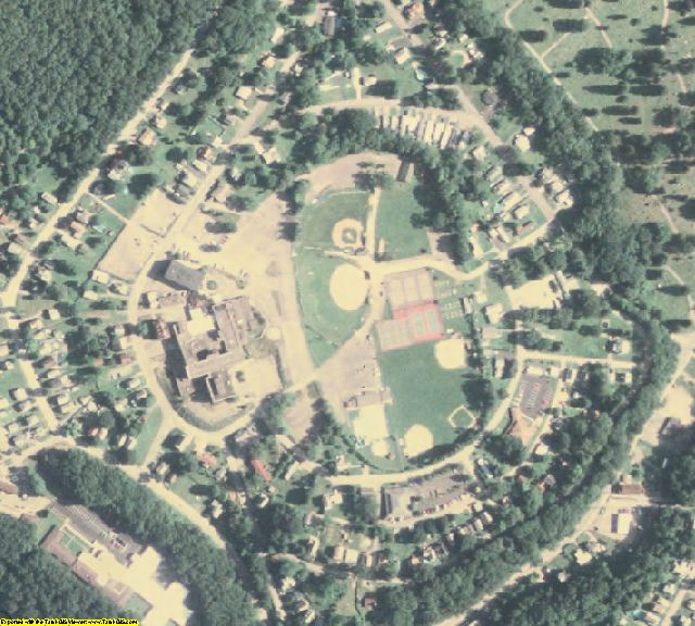 Venango County, PA aerial photography detail