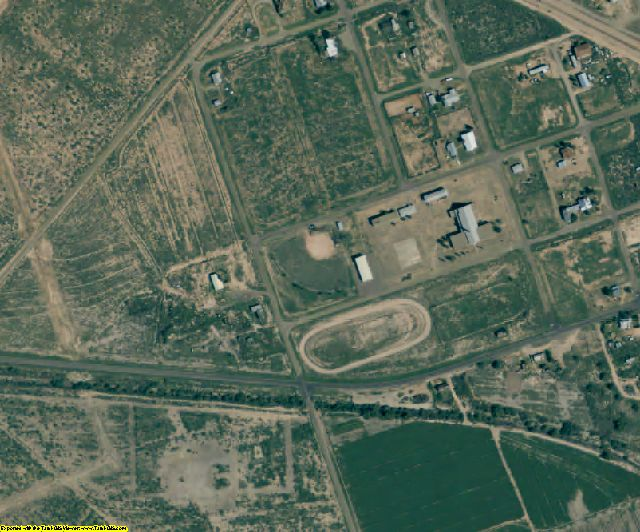 Ward County, TX aerial photography detail