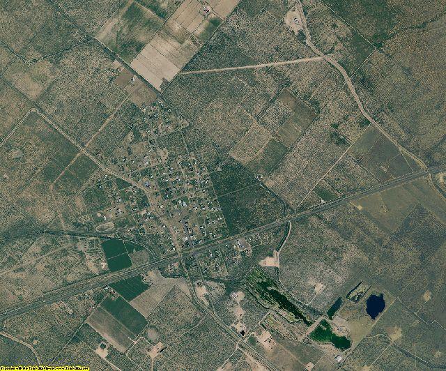 Ward County, Texas aerial photography