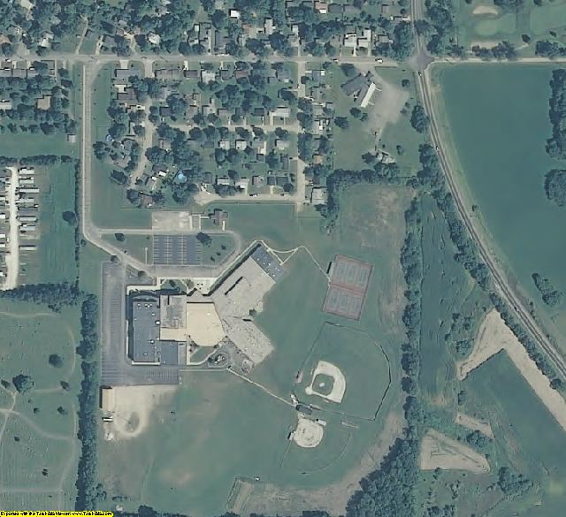 Warren County, IN aerial photography detail
