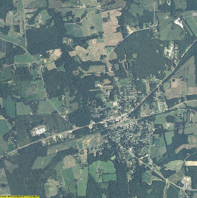 Warren County, North Carolina aerial photography