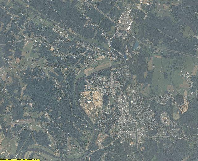 Warren County, Virginia aerial photography
