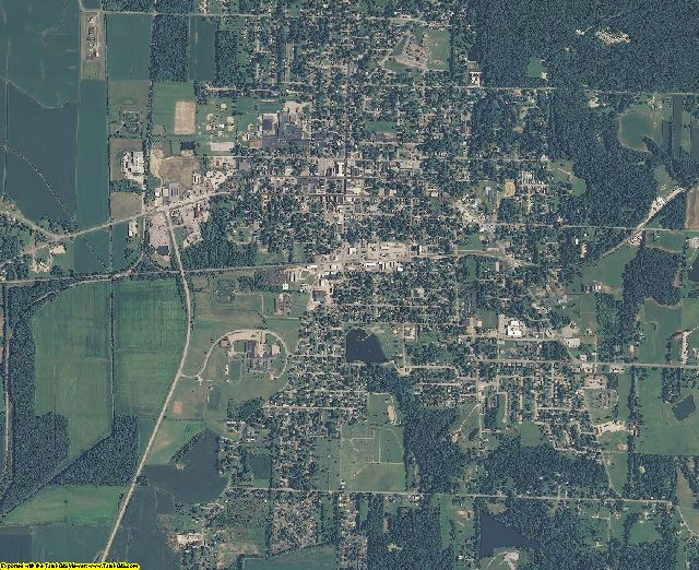 Warrick County, Indiana aerial photography