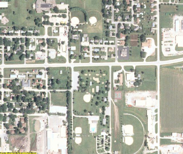 Washington County, IA aerial photography detail