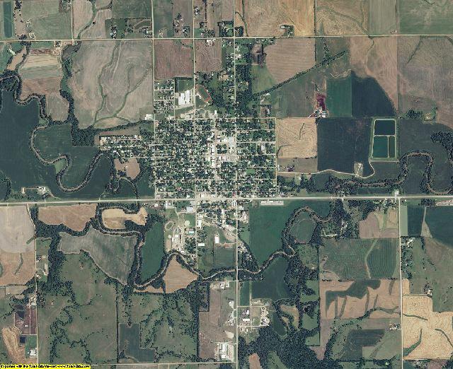 Washington County, Kansas aerial photography